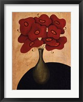 Bouquet Rouge Framed Print