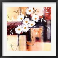 Daisy Impressions I Framed Print