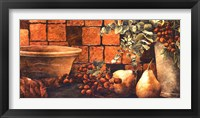 Framed Tiled Still Life II
