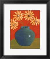 Fun Floral I Framed Print