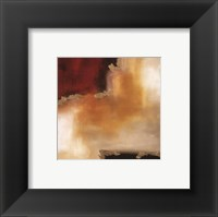 Crimson Accent II Framed Print