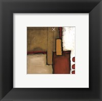 Stirred Framed Print