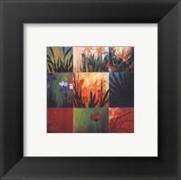 Framed Tropical Nine Patch