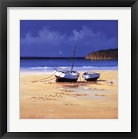 Framed Moorings Low Tide