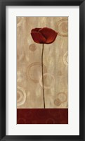 Pop Art Poppies II Framed Print
