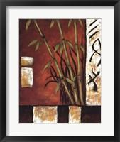 Russet Silhouette I Framed Print