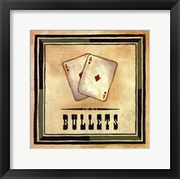 Bullets Framed Print