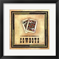 Framed Cowboys