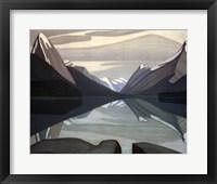 Maligne Lake, Jasper Park Framed Print