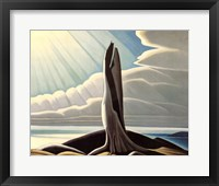 North Shore, Lake Superior Framed Print