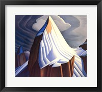 Framed Mount Lefroy