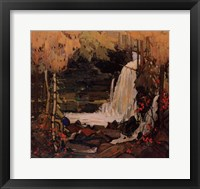 Framed Woodland Waterfall