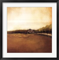 Framed Rural Landscape I