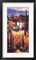 Hills of Tuscany Framed Print