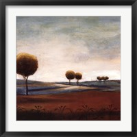 Framed Tranquil Plains I