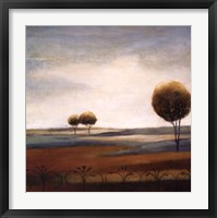 Framed Tranquil Plains II