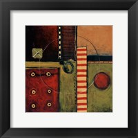 Time Passing Framed Print