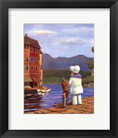 The Road to Portofino Framed Print