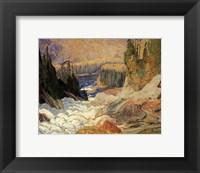 Framed Falls, Montreal River
