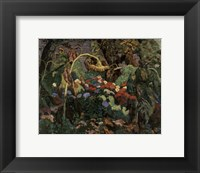 Framed Tangled Garden