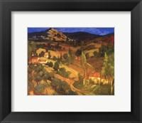 Framed Provencal Landscape