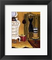 Dressing Room I Framed Print