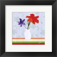 Framed Spring Stripes I