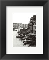 Framed Array of Boats, Venice