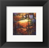 Morning Light Tuscany Framed Print