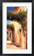 Secret Alley Framed Print
