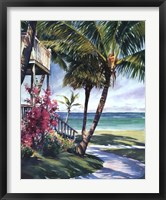 Peaceful Retreat Framed Print