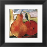 Framed Great Pear