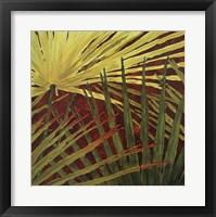 Framed Three Palms, Panel B