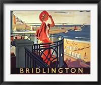Framed Bridlington Beach