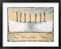 Framed Seven Tied