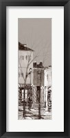 Framed Vue De Montmartre I