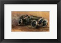 Framed French Grand Prix 1914