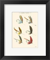 Lake Flies II Framed Print