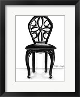 Designer Chair II Framed Print