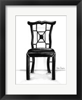 Designer Chair III Framed Print