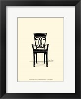 Designer Chair IV Framed Print
