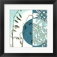 Kimono Garden III Framed Print
