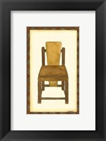Framed Rustic Chair I