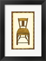 Framed Rustic Chair II
