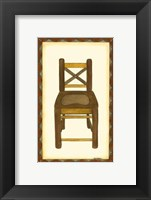 Framed Rustic Chair III