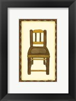 Framed Rustic Chair IV