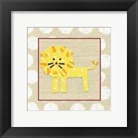 Katherine's Lion Framed Print