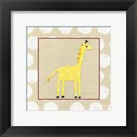 Katherine's Giraffe Framed Print