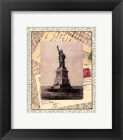 Framed Statue of Liberty