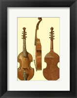 Framed Antique Violas II